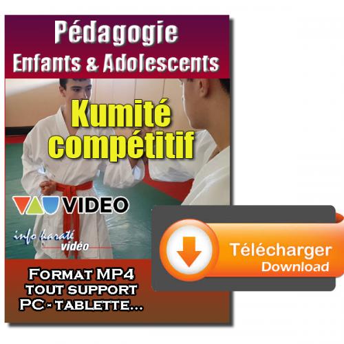 Kumite competitivo para niños y adolescentes